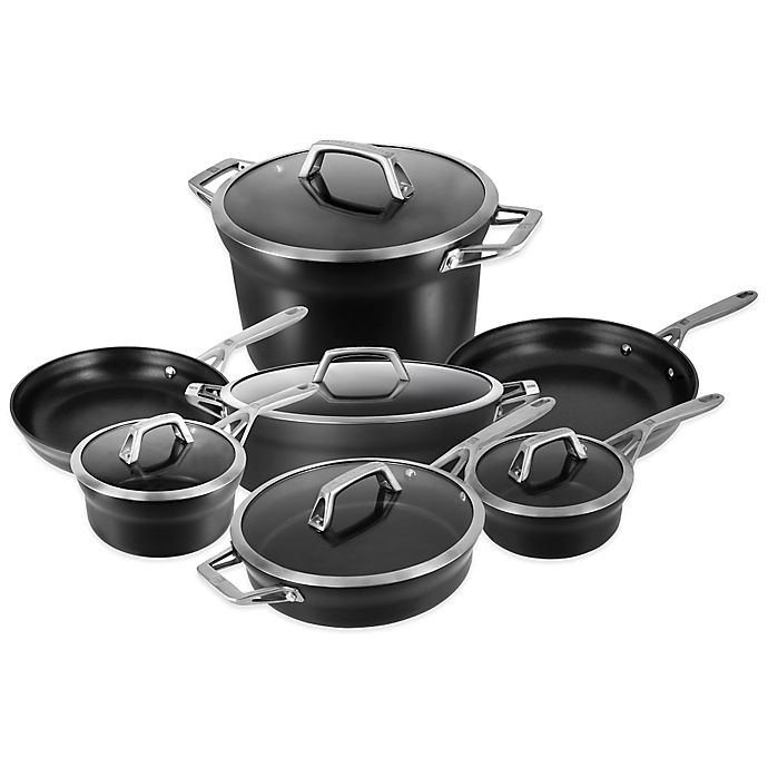 Alternate image 1 for Zwilling J.A. Henckels Motion 12-Piece Cookware Set and Open Stock Collection