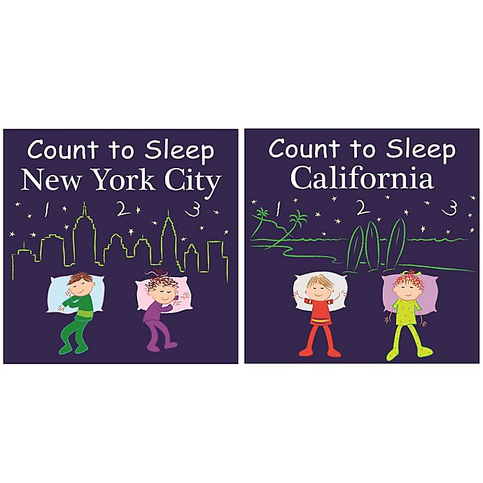 Alternate image 1 for Count to Sleep Destinations Board Books
