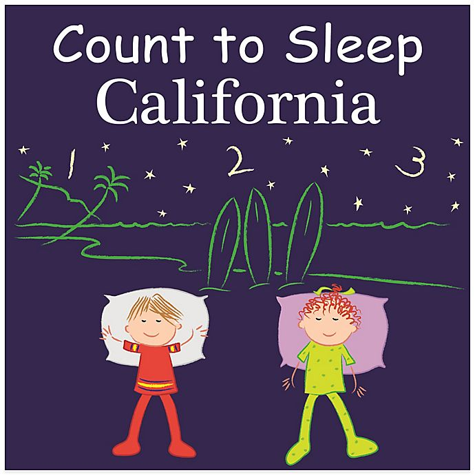 Alternate image 1 for Count to Sleep California Board Book