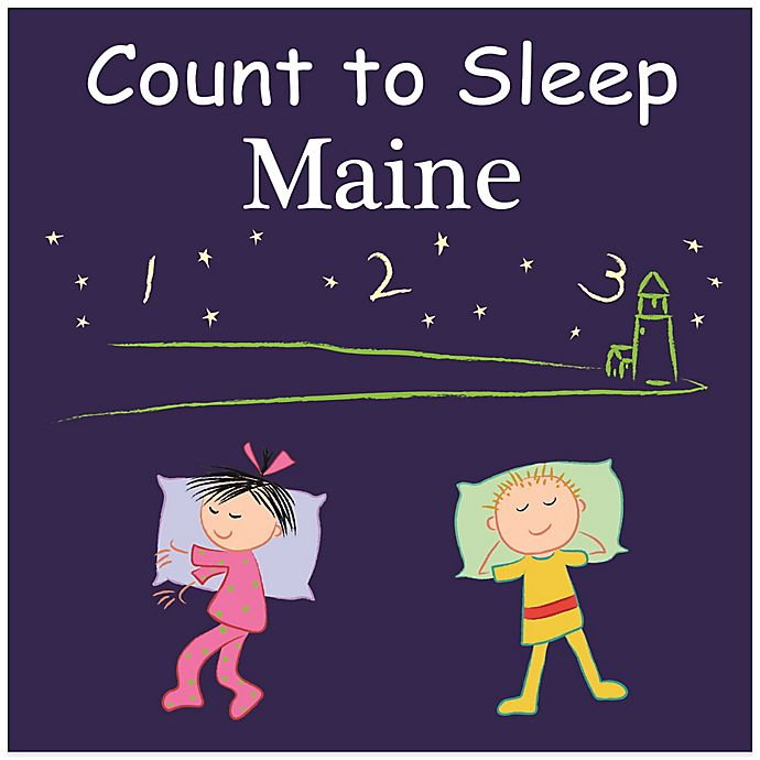 Alternate image 1 for Count to Sleep Maine Board Book