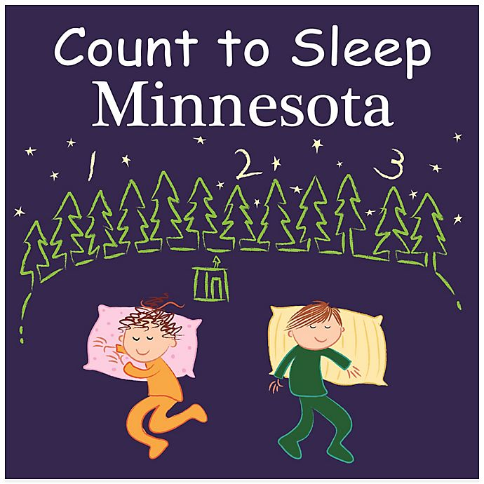 Alternate image 1 for Count to Sleep Minnesota Board Book