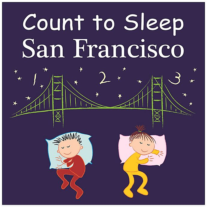Alternate image 1 for Count to Sleep San Francisco Board Book