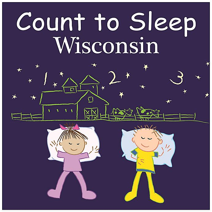 Alternate image 1 for Count to Sleep Wisconsin Board Book