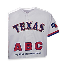 MLB Texas Rangers ABC: My First Alphabet Board Book