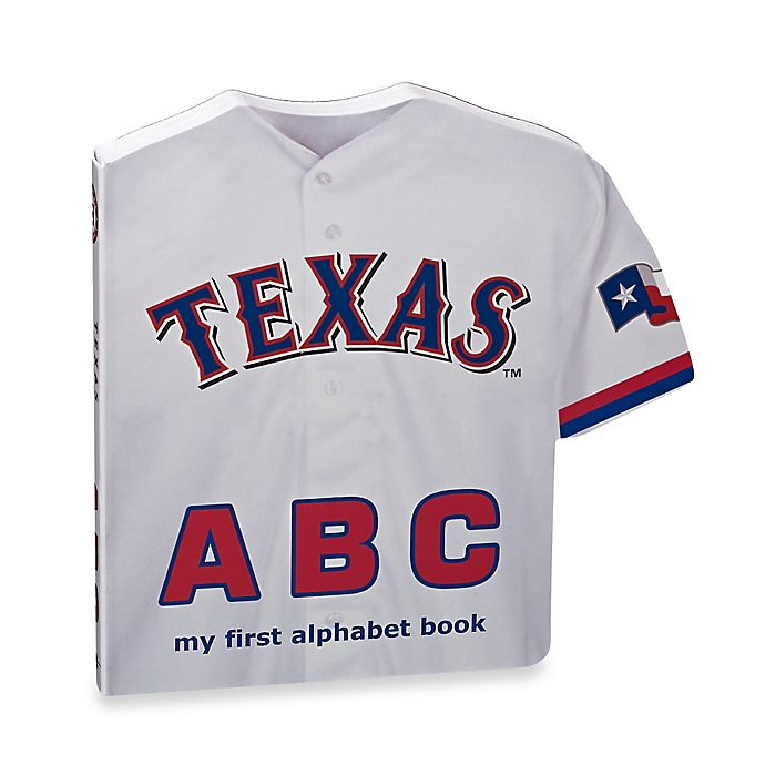 Alternate image 1 for MLB Texas Rangers ABC: My First Alphabet Board Book