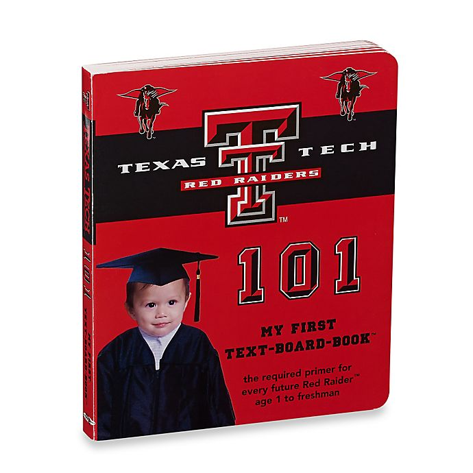 Alternate image 1 for Texas Tech 101: My First Text-Board-Book™