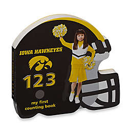University of Iowa Hawkeyes 123: My First Counting Board Book