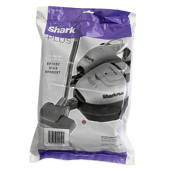 Alternate image 1 for Shark® 10-Pack Micron Replacement Bags