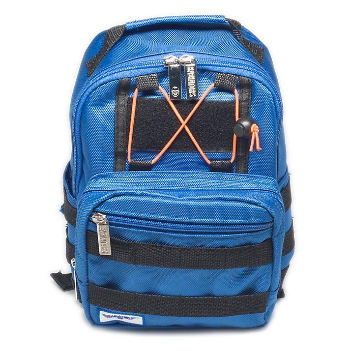 Alternate image 1 for Babiators® Rocket Pack Backpack in Blue Angels Blue