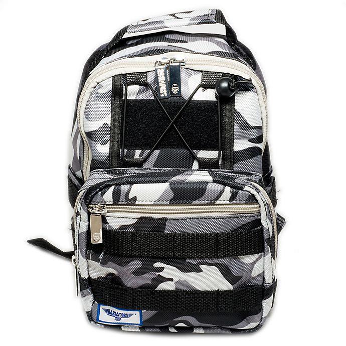 Alternate image 1 for Babiators® Rocket Pack Backpack in Galactic Grey