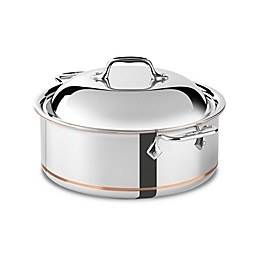 All-Clad Copper Core® 6 qt. Covered Round Roaster