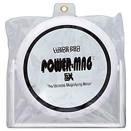 Luxor Professional Power-Mag 5X Magnifying Mirror with Acrylic Stand