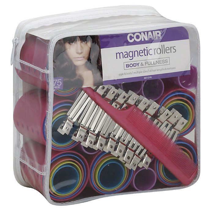 Alternate image 1 for Conair® 75-Pack Magnetic Rollers
