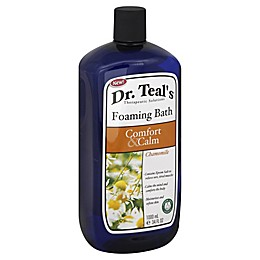 Dr. Teal's Comfort & Calm 34 oz. Chamomile Foaming Bath