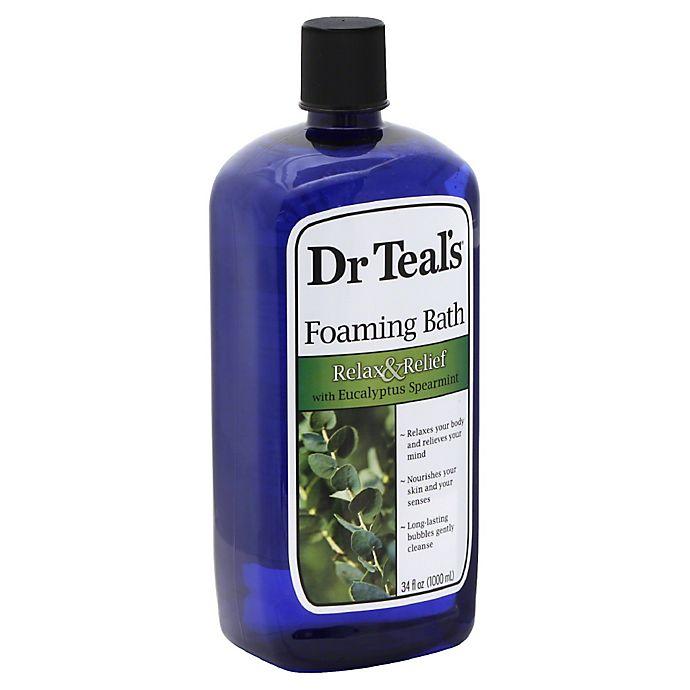 Alternate image 1 for Dr. Teal's 34 oz. Eucalyptus Spearmint Foaming Bath