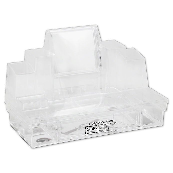 Alternate image 1 for Caboodles Hollywood Glam Acrylic Storage Tray