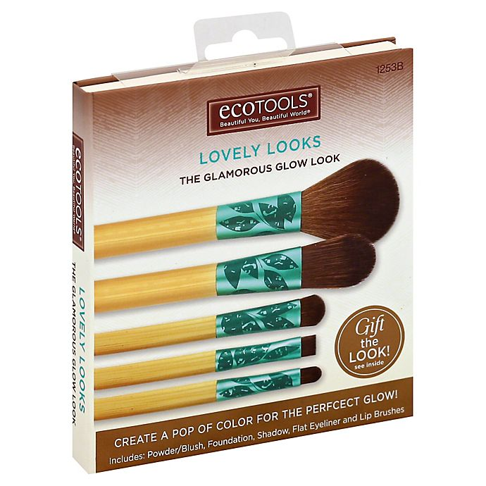 Alternate image 1 for EcoTools® 5-Piece Fresh & Flawless Brush Set