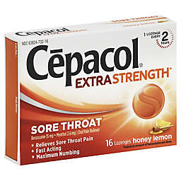 Cepacol® Extra Strength 16-Count Sore Throat Lozenges in Honey Lemon