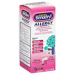 Benadryl Children's 4 oz. Allergy Liquid in Cherry Flavor