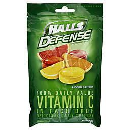 Halls Defense® 30-Count Vitamin C Cough Drops in Citrus