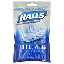 Halls® Mentholyptus 25-Count Sugar-Free Cough Drops