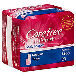Carefree Acti-Fresh 20-Count Unscented Pantiliners