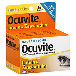 Bausch + Lomb 36-Count Ocuvite Lutein Vitamin Supplement Tablets