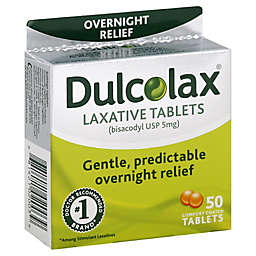 Dulcolax Laxative 50-Count Tablets