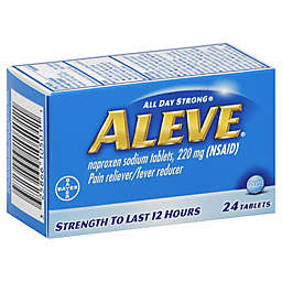 Aleve® 24-Count Pain Reliever/Fever Reducer Tablets