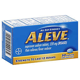 Aleve 50-Count Pain Reliever Fever Reducer Caplets
