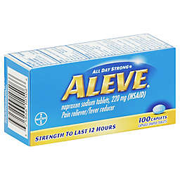 Aleve® 100-Count Pain Reliever/Fever Reducer Caplets