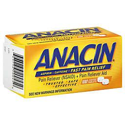 Anacin 100-Count Aspirin Tablets