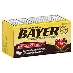 Bayer® 50-Count 325 mg Aspirin Tablets