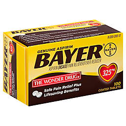 Bayer® 100-Count 325 mg Aspirin Tablets