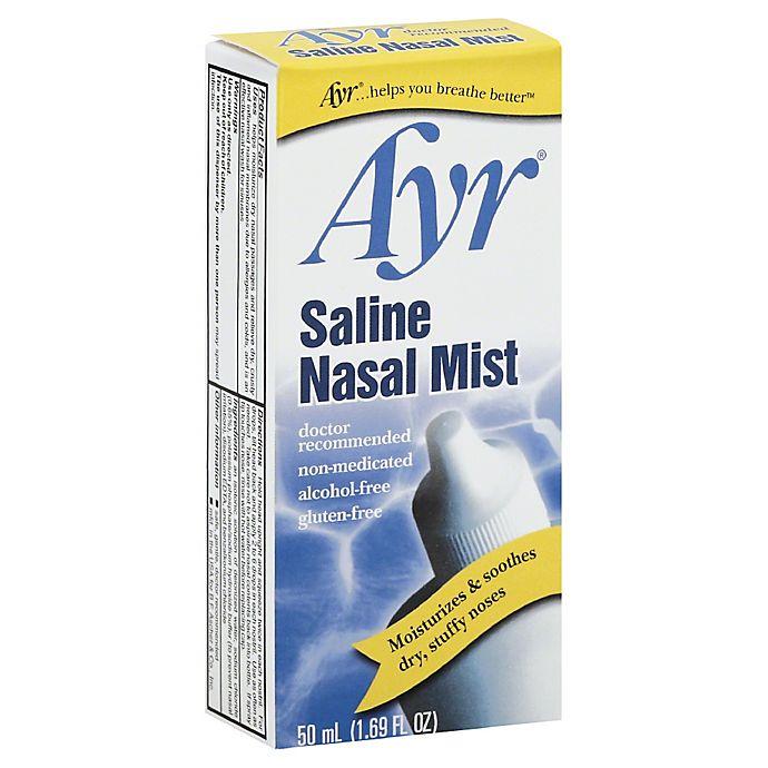 Alternate image 1 for Ayr® 1.69 fl.oz. Saline Nasal Mist
