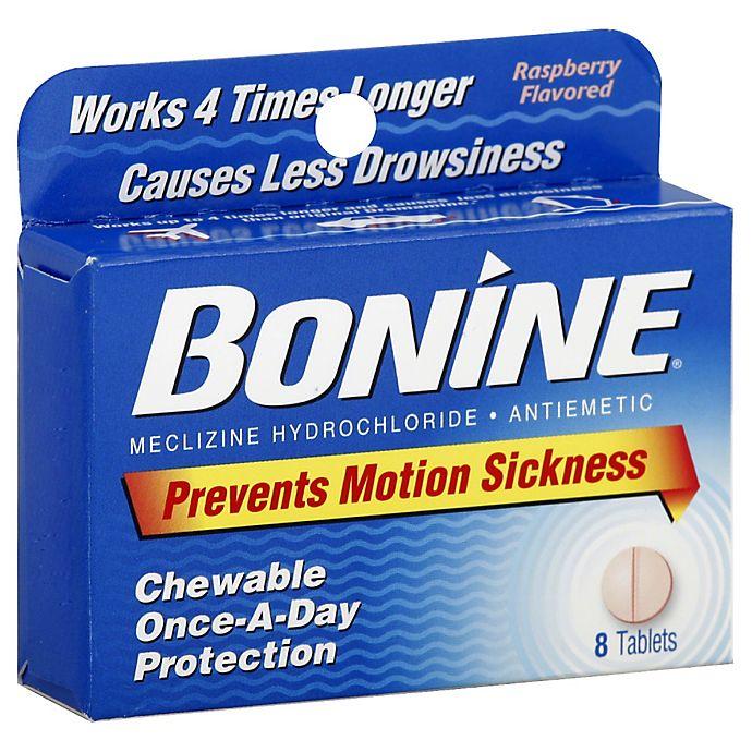 Bonine® 8-Count Chewable Motion Sickness Tablets   Bed Bath