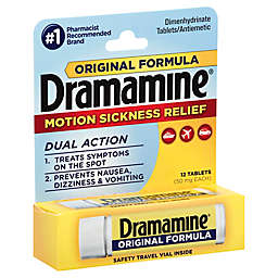 Dramamine® Original Formula 12-Count 50 mg Motion Sickness Relief Tablets