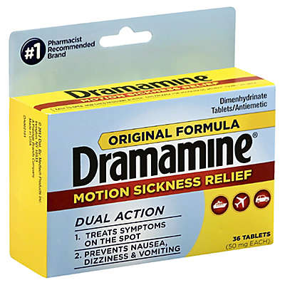 Dramamine® Original Formula 36-Count Motion Sickness Relief Tablets