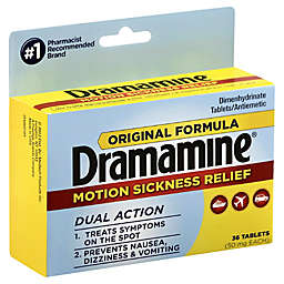 Dramamine® Original Formula 36-Count Motion Sickness Relief Tablets