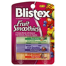 Blistex Fruit Smoothies Lip Balm .30 oz. 3-Pack SPF 15