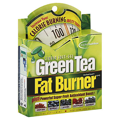 Applied Nutrition® 30-Count Green Tea Fat Burner Liquid Soft-Gels