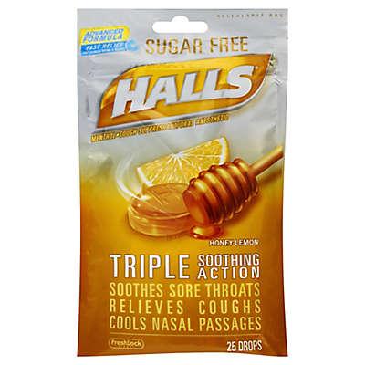 Halls® 25-Count Sugar-Free Cough Drops in Honey Lemon