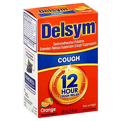 Delsym® 12-Hour 3 oz. Cough Suppressant Liquid in Orange Flavor