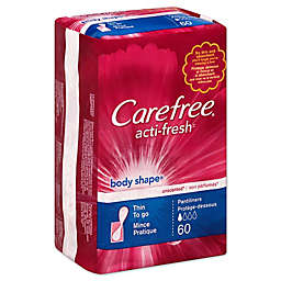 Carefree 30-Count Unscented Regular Pantiliners