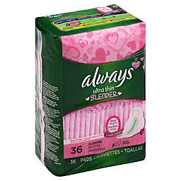 Always Ultra Thin 36-Count Slender with Flexi-Wings Pads