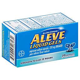 Aleve® Liquid Gels 20-Count Pain Reliever/Fever Reducer Liquid Gels