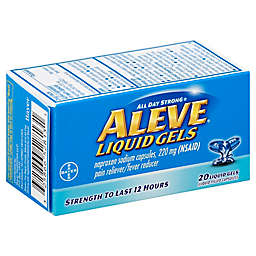 Aleve® Liquid Gels 20-Count Pain Reliever/Fever Reducer Liquid Gels