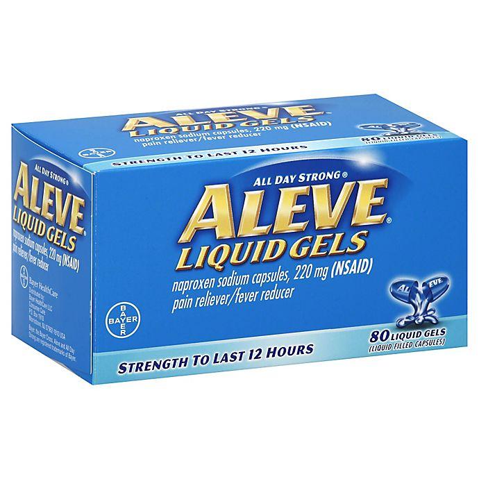 Alternate image 1 for Aleve 80-Count Liquid Gels