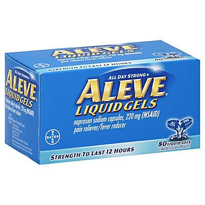 Aleve 80-Count Liquid Gels