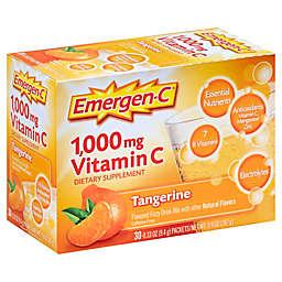 Emergen-C® 30-Count 1000 mg Vitamin C Fizzy Drink Mix Packets in Tangerine